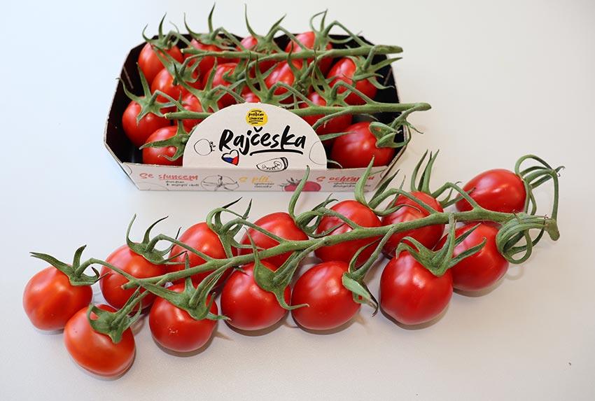 Cherry rajčata keřík Rubín
